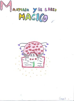 Martina y el libro  mágico